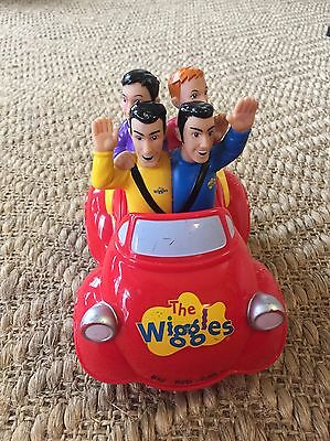 The Wiggles Push & Go Big Red Singing Musical Car Spin Master