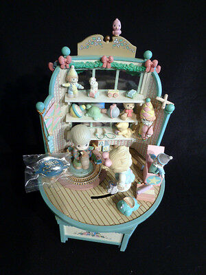 Enesco PRECIOUS MOMENTS Toyland Multi-Action Music Box 1993