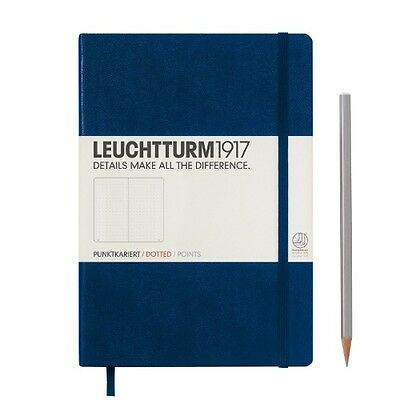 Leuchtturm1917 Notebook Medium A5 Dotted - Navy by Hardcover Book