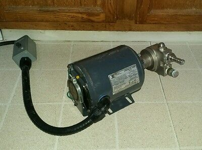 Emerson 1/3 HP Motor with ProCon Drive Stainless Steel Carbonator Pump 6079