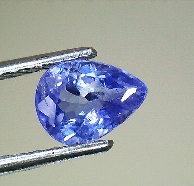 Brillante Tanzanite Goccia  Naturale Intrattata  Ct.0,39 Vs