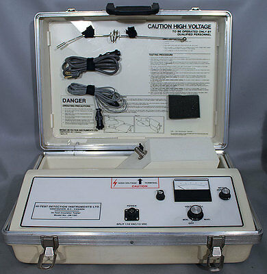 Hi-Test Detection Instruments/HD Electric JM-100 Insulation Tester 12kV 50µA DC