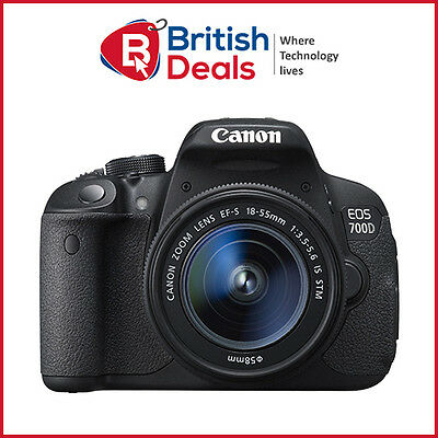 Canon EOS 700D 18MP Digital SLR Camera with 18-55mm IS STM Lens+ 3 Year Warranty