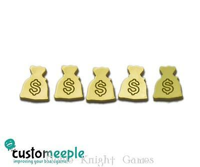 Customeeple Game Accessory Money Bag Token - Gold MINT