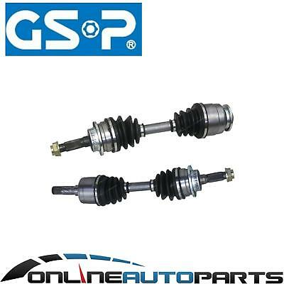 Pair Left + Right Side CV Joint + Axle Shaft Ford Courier PE PH PG 4wd 4x4 Ute