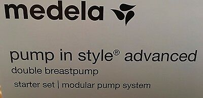 NEW Medela Pump-In-Style Advanced Breastpump Starter Set Double Feeding