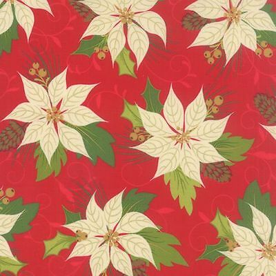 MODA Fabric ~ TOLE CHRISTMAS ~ by Gina Martin 10054 13 by 1//2 yd Parchment