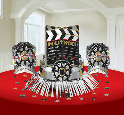 Hollywood Clapboard Film Reel Table Centrepiece Party Movie Decorations Kit