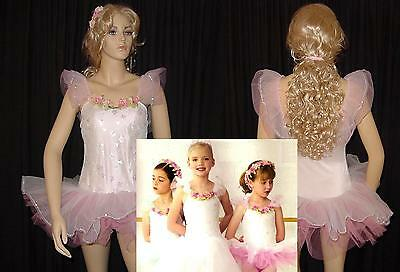 Lot of 5 FAIRY PRINCESS Pink 3-Child 12's and 2-Child 14's Ballet Dance Costumes