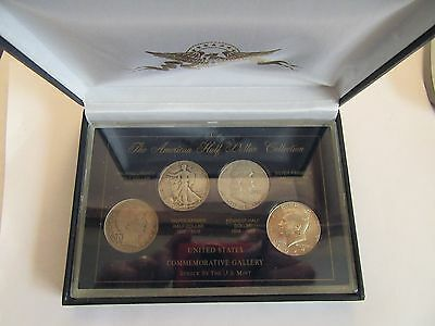 US Silver Half Dollar Collection, Barber, Walking Liberty, Franklin, Kennedy