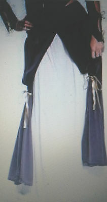 Theatre Quality Heavy Lady Musketeer Full-length Peasant Skirt OverLay & Ribbons
