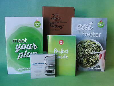 Weight Watchers 2017 Smart Points PLAN Guides + Pocket Guide + Calculator +Diary