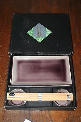 Sushi Plate Set for 2 - New in Box