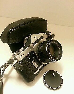 VINTAGE Sears - TLS 35mm Film Camera 50mm lens with protective case
