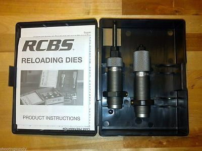 RCBS Small Base Taper Crimp 2 Die Set 308 Win 7.62x51mm Nato AR Series NEW 15507