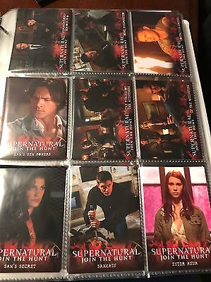 Supernatural season 4-6 Trading Cards - You Choose Your 20 Favorites!!!!