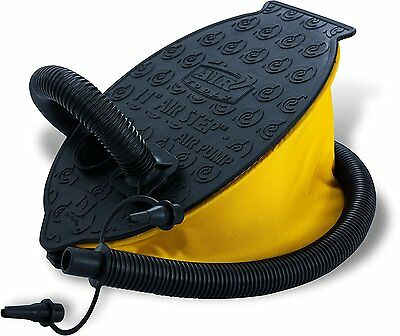 Bestway Air Foot Pump - foot air pumps Inflatables, Black, Yellow, Shrink with