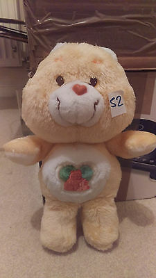 "Rare Vintage Original Forest Friend Care Bear 13"" Tonka 1983"
