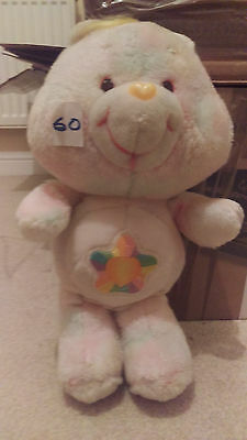 "Rare Vintage Original True Heart Care Bear 13"" Kenner 1986"