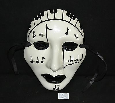 ThriftCHI ~ Hand Painted Theatre Mask By Rosary New Orleans, LA