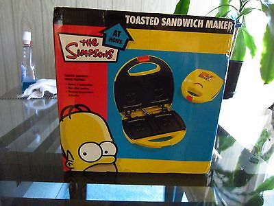 Simpsons Homer Toasted Sandwich Maker 2006   Htf