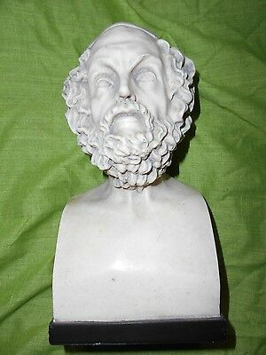 a lovely vintage bust of Homer