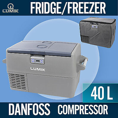 NEW! 40L Portable Freezer Fridge 12V/24V/240V  Camping Car Boat Caravan  Cooler