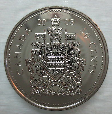 2005P Canada 50 Cents Proof-Like Coin