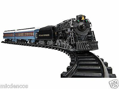 Lionel Polar Express Ready to Play Train Set, Remote Control, Working Headlights
