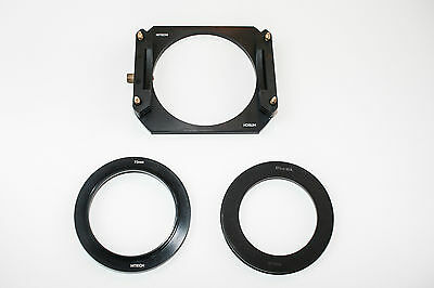 HITECH Holder 100 - Like NEW - 67mm wide angle adapter ring - 72mm Standard ring