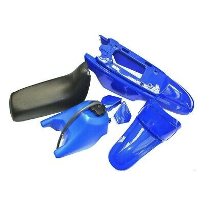 PLASTIC KIT SEAT TANK FENDER BLUE PEEWEE 50 PW COVERS for YAMAHA PW50 PY50