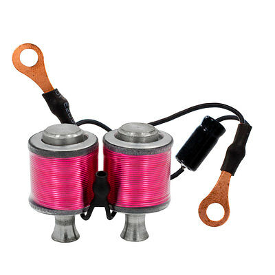 "8W Ringmaster Irons Tattoo Machine Hand Wired Pair Coils 1 1/4"" Stilted PINK"