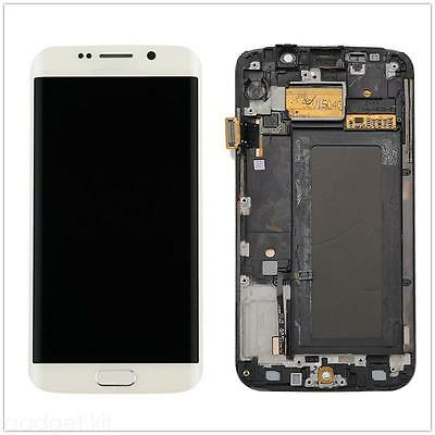 Lcd Display Touch Screen Glass Digitizer Frame For Samsung galaxy S6 edge G925F