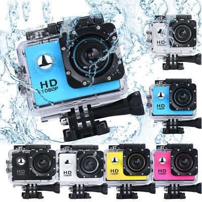Waterproof 12MP 1080P Full HD WiFi DV Sports Recorder Action Camera Camcorder