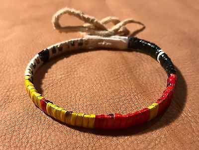 Neat New Lakota Sioux Quilled Bracelet