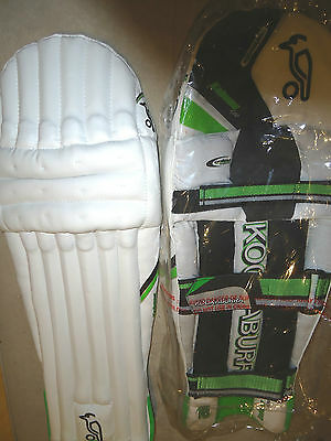 Cricket Batting Pads Leg Pads Youth Junior Kookaburra Kahuna 400 Brand New