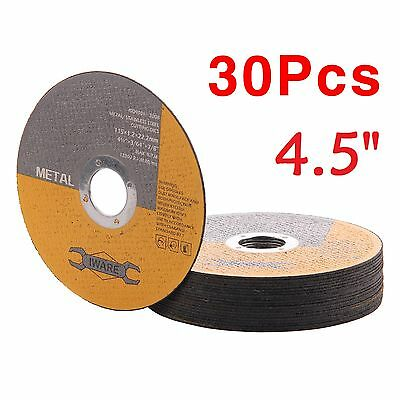 "30X 115Mm 4.5"" Metal Cutting Blade Disc Stainless Steel Angle Grinder Thin 1.2Mm"