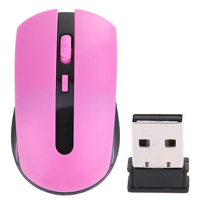 2.4 GHz USB Wireless Cordless Optical Scroll Mouse Mice 1600DPI for Laptop PC UK