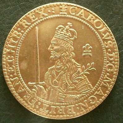1643 Charles I Triple Unite Copy.  (FREE UK POSTAGE AVAILABLE)