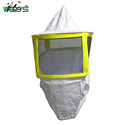 Square Folding Mesh Beekeeping Protective Hat-Veil Combo Beekeeper Clothing