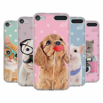 OFFICIAL STUDIO PETS PATTERNS SOFT GEL CASE FOR APPLE iPOD TOUCH MP3