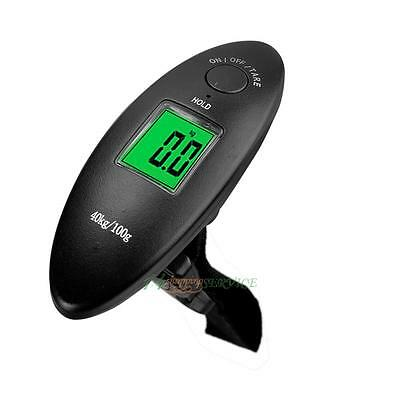 Portable 40kg/10g Travel Electronic LCD Luggage Suitcase Weight Hanging Scale UK