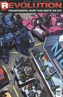 Transformers More Than Meets The Eye Revolution (2016 IDW) #1 NM