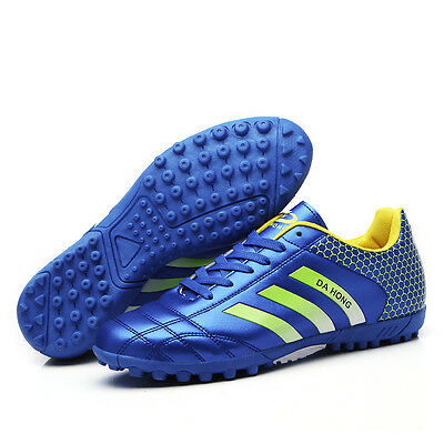 New Adults Youth Kids Indoor Soccer Cleats Shoes Turf Soccer Football Trainers
