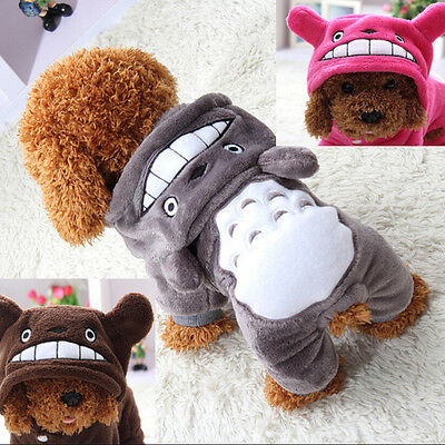 Uk Pet Dog Cat Puppy Sweater Hoodie Coat For Small Pet Dog Warm Costume Apparel