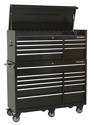 Sealey Tools Ptbcombo4 18 Drawer Topchest & Rollcab Combination With Ball Bearin