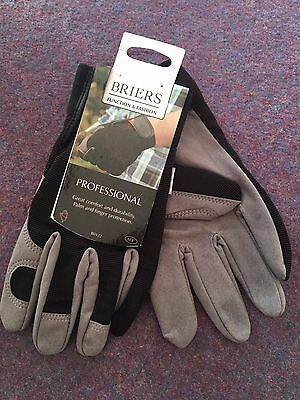 BRIERS Professional Gardening Gloves Medium or Large