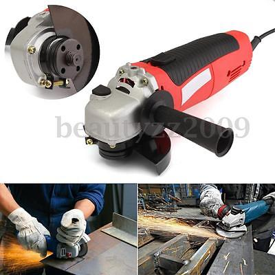 230V 650W Electric Angle Grinder Heavy Duty Cutting Grinding Tool 4.5'' 115mm