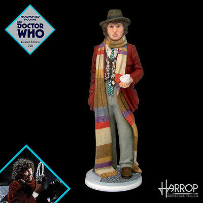 NEW! Fourth Doctor - Tom Baker - Doctor Who Figurine - Harrop - Limited Edition