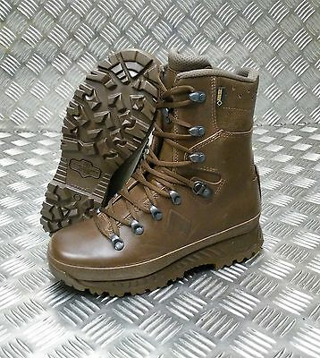 Genuine British Army Haix Female Goretex Leather Cold Weather Combat Boots
